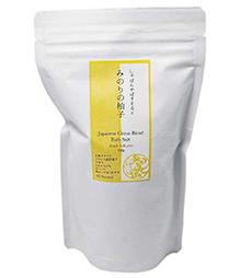 バスソルト「みのりの柚子」商品