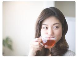【特徴2】すっきり美味しい生姜紅茶