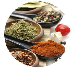 【特徴1】7種類の天然食品ハーブをバランスよく配合